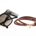 glasögonsnöre_senilsnöre_läder_brun