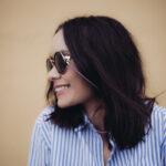 Glasögonsnöre – Läderrem 3 mm