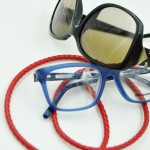 Glasögonsnöre – Läderrem 5 mm