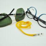 Glasögonsnöre Textil – Gul