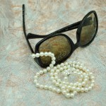 Glasögonsnöre sötvattenspärlor_vita