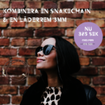 snakechain och läder 3mm_med läderrem