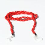 Glasögonsnöre röd korall
