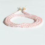 Glasögonsnöre rosa pärlor.